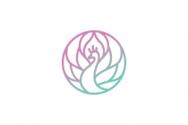 Beauty Peacock Logo