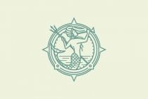 Mermaid Compass Logo