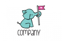 Little Elephant Logo
