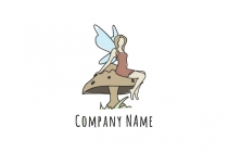 Forest Fairy Logo