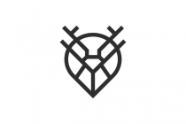 Gps Diamond Deer Logo