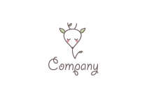 Cute Deer Logo