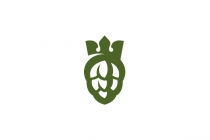 Hops And Crown Logo