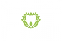 Tooth And Leaves Logo