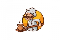 Chef Is Cooking Logo