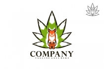 Cannabis Fox Logo
