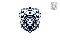 Lion Captain Logo