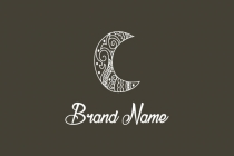 Moon Ornament Logo
