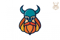 Colourful Viking Logo
