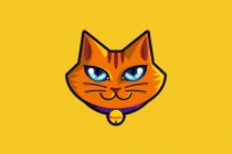Orange Kitten Logo