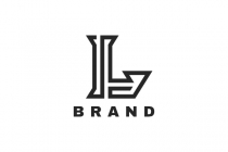 Sharp Letter L Logo