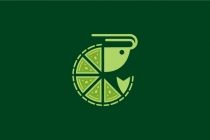 Lime Shrimp Logo