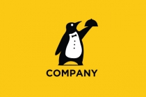 Penguin Waiter Logo