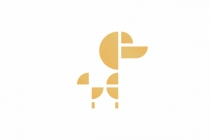 Golden Poodle Logo