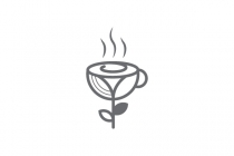 Flower Coffee Logo