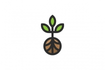 Tree And Soil Logo
