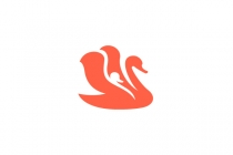 Swan And Baby Logo