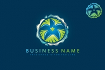 Palm Tree Island Logo