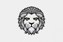 Lion King Face Logo