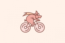 Funny Pig Bicycle...