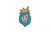 Blue Lion King Logo