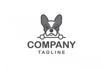 Frenchie Bulldog Logo