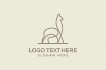 Simple Alpaca Logo
