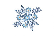 Folk Flower Logo