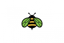 Nature And Bee Logo