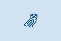 Owl Paperclip Logo...