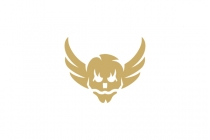 Winged Skull Logo