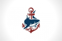 Anchor Shark Logo