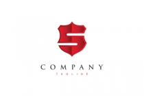 Stylish S Badge Logo