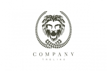 Lion Badge Logo