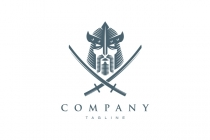 Samurai Warrior Logo