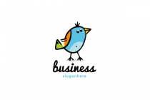 Cartoon Bird Logo