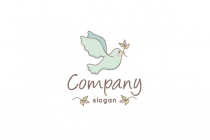 Pigeon Drawing Logo