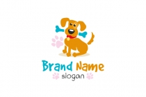 Dog With Bone Logo