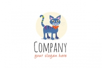 Cartoon Cat Logo