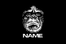 Chimp Face Logo