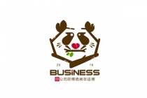 Panda Love Nest Logo