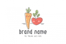 Cute Veggies Logo