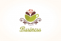 Green Tea Cafe Logo