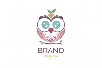 Junior Baby Owl Logo