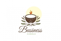Coconut Candle Logo