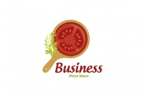 Tomato Pizza Logo