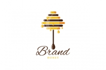 Honey Stick Tree Logo
