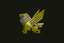 Metallic Griffin Logo