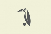 Leaf Nature Bird Logo