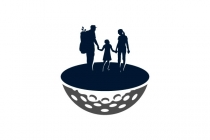 Family Golf Logo